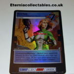 G.I.Joe Trading card Game 2004 42/114 No 42 Scarlett  (Hologram) @sold@